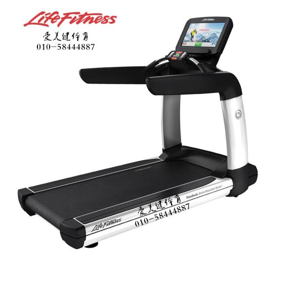美国LifeFitness/力健跑步机美国进口跑步机PCS 钛风暴-19英寸屏